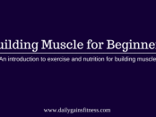 building muscle for beginners