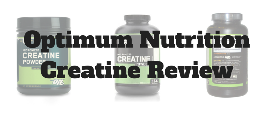 On creatine review
